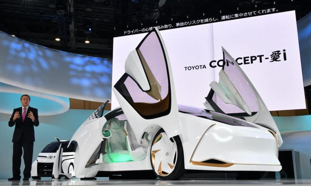 Clermont Toyota Tokyo Motor Show