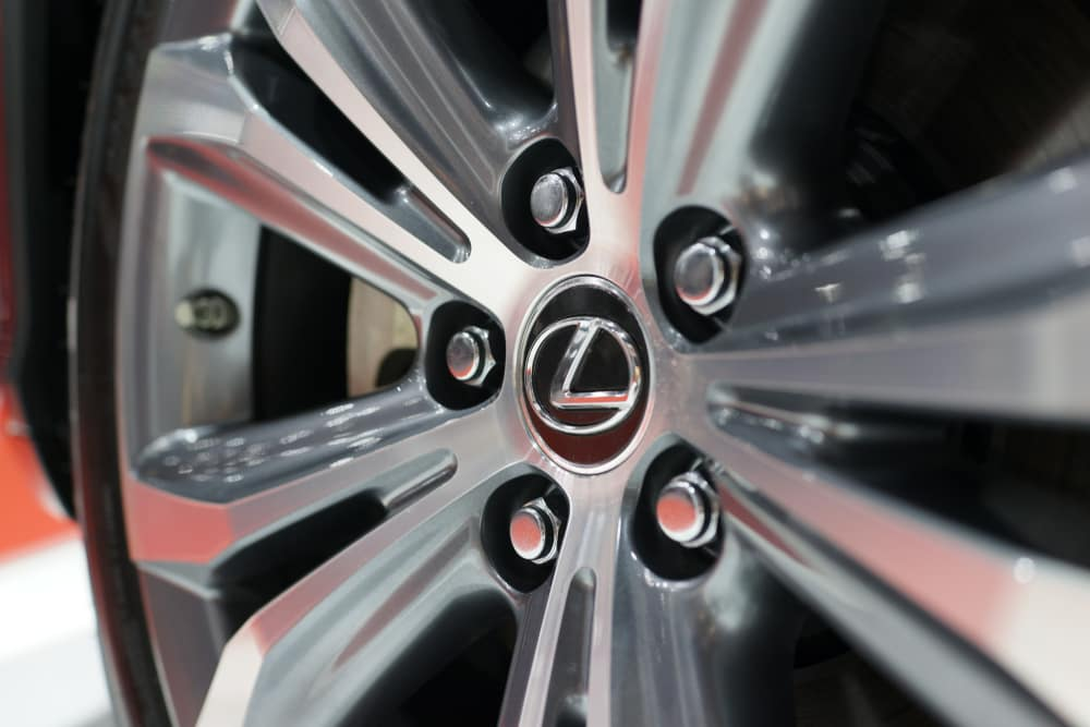 Toyota luxury vehicle available in Clermont