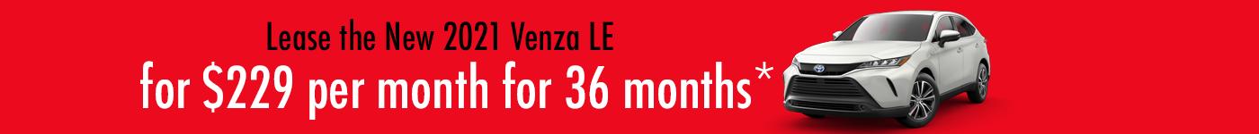 Toyota Venza deals