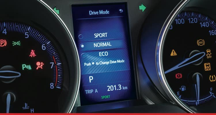 Clermont Toyota drive modes