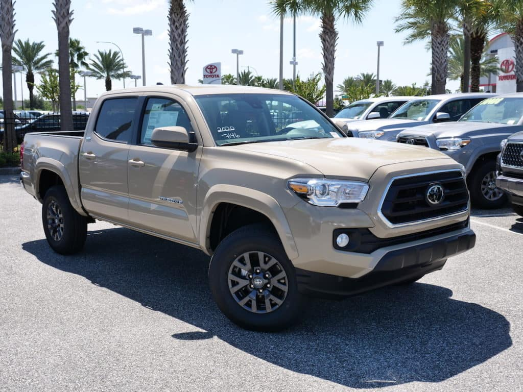 Clermont Toyota truck