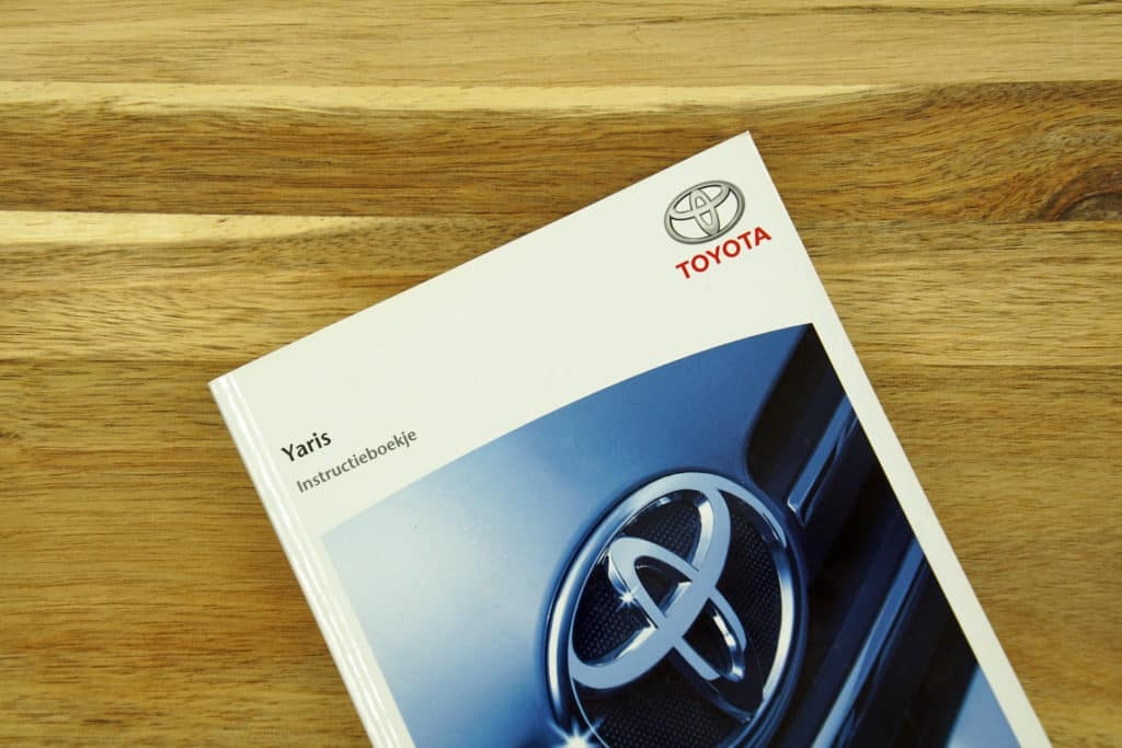 Clermont Toyota car owner's manual.