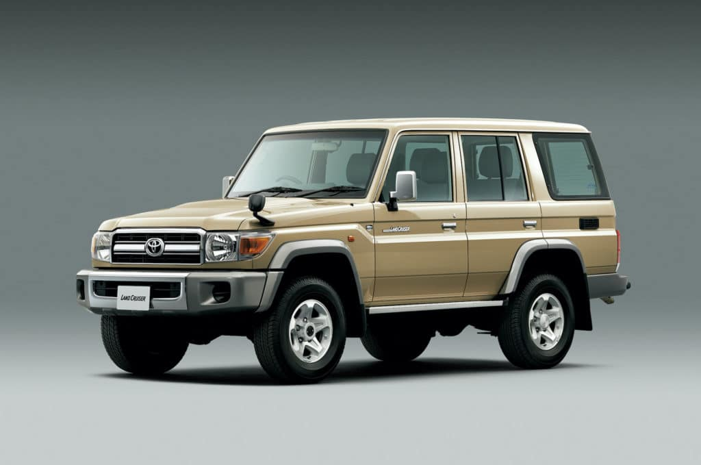 Clermont Toyota Land Cruiser for sale.