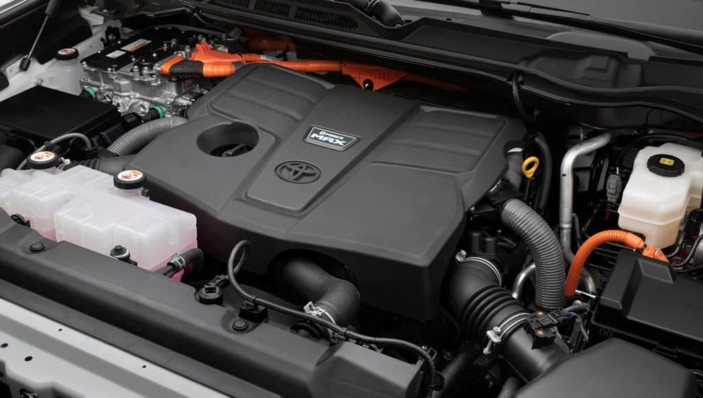 Toyota Tundra engine in Clermont.