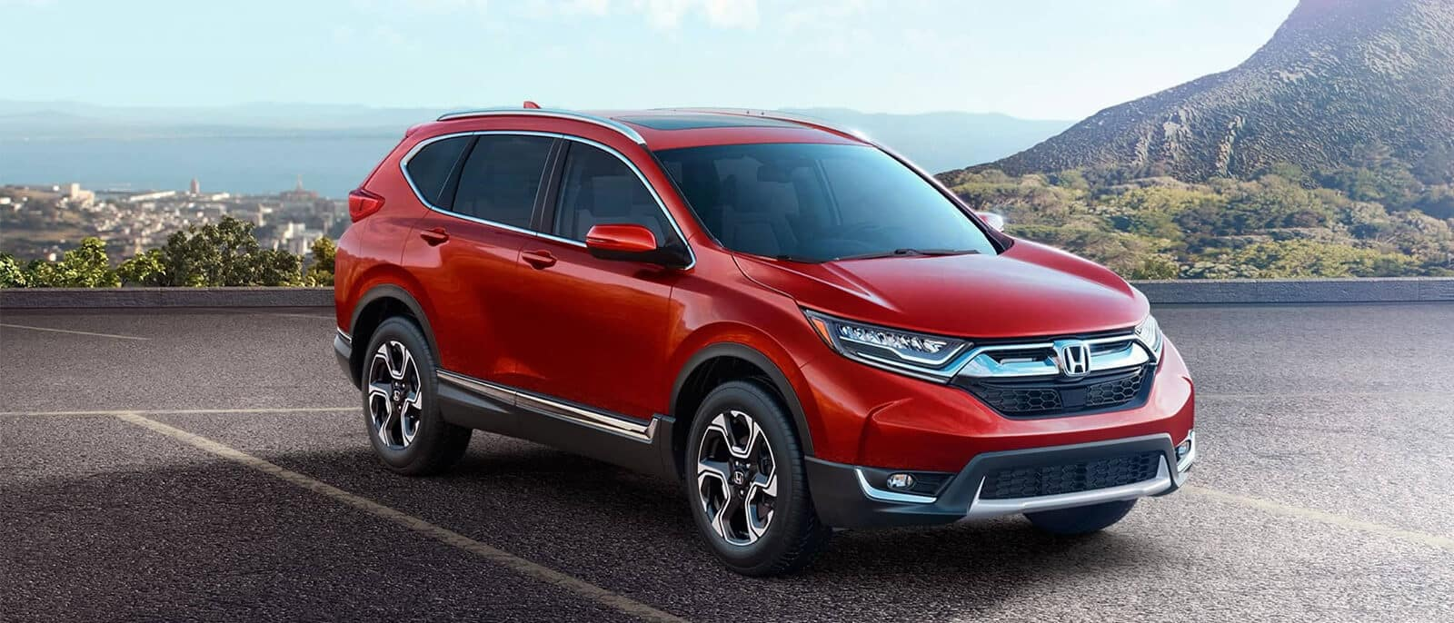 2018 Honda CR-V Mountain Background
