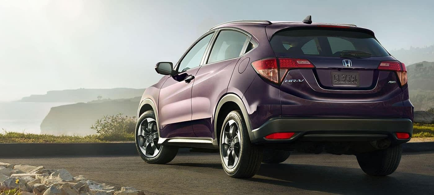 2018 Honda HR-V LX rear view