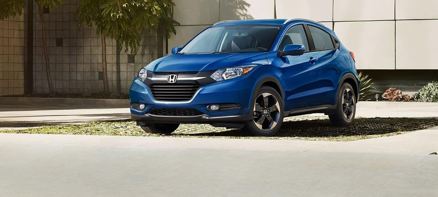 2018 Honda HR-V LX in blue