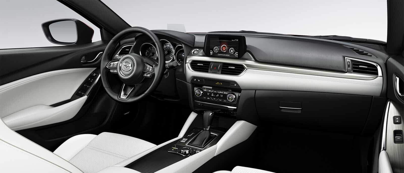 2017 Mazda6 White Interior