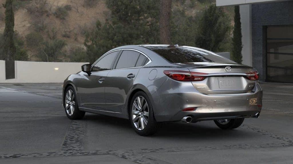 2018 Mazda Mazda6 back view