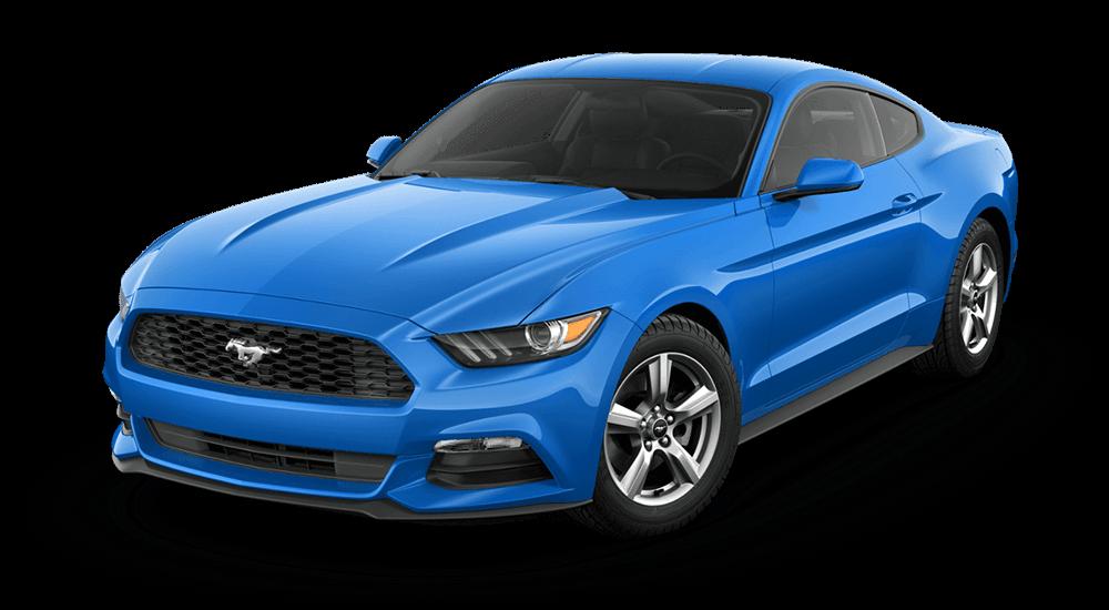 2017 Mustang V6 Fastback Grabber Blue