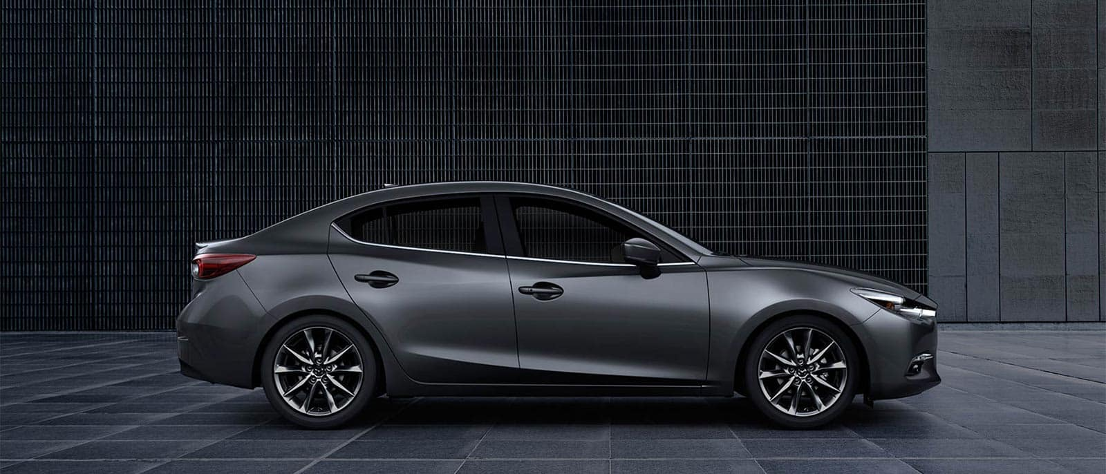 2018 Mazda3 4 Door Industrial Background