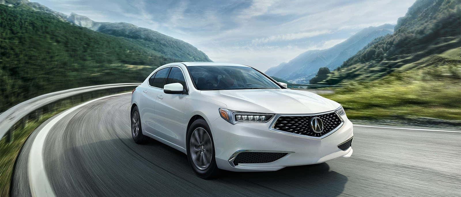 2018 Acura TLX Curve
