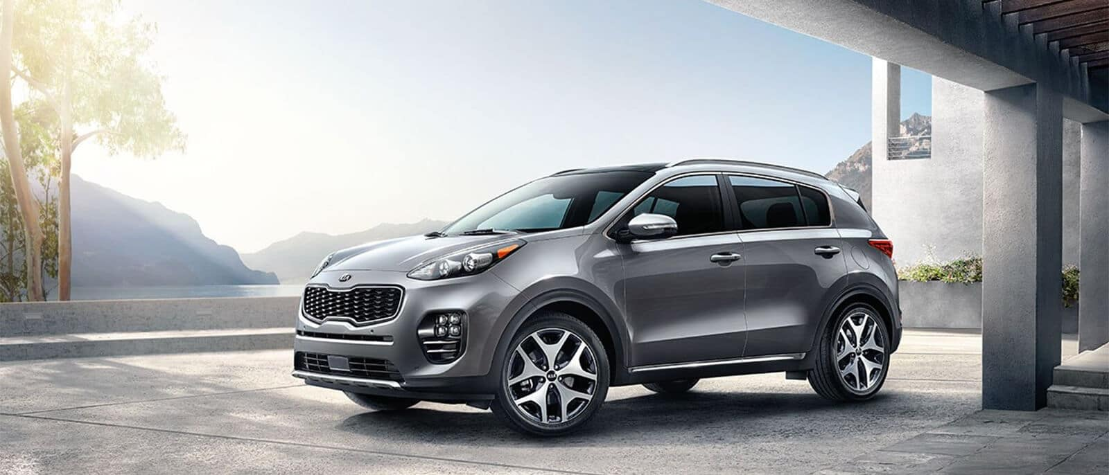 2018 Kia Sportage SX Turbo Parked