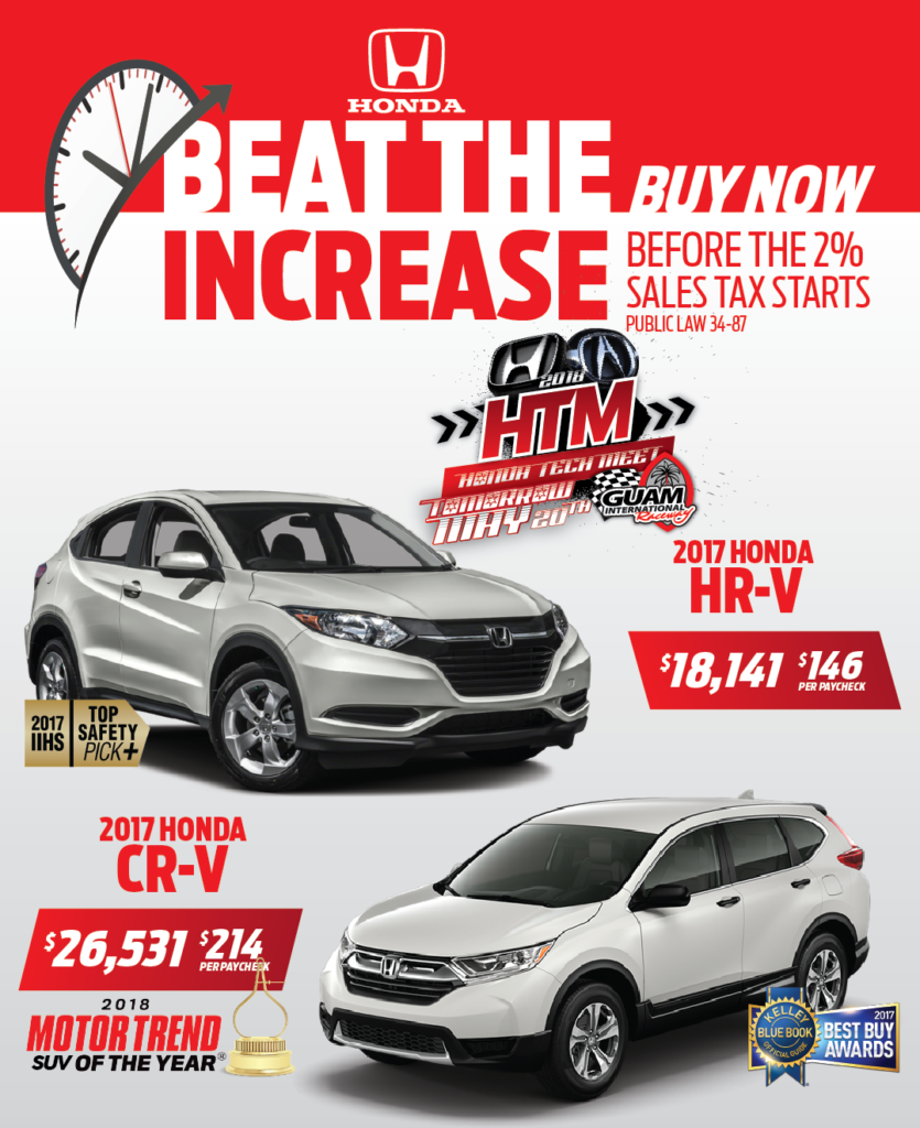 2017 Honda HR-V & CR-V