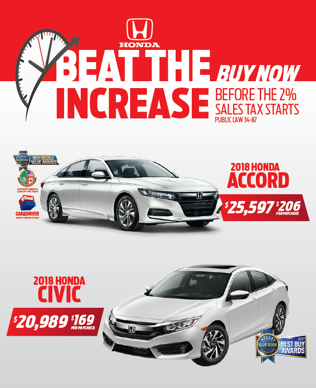 2018 Honda Civic & Accord