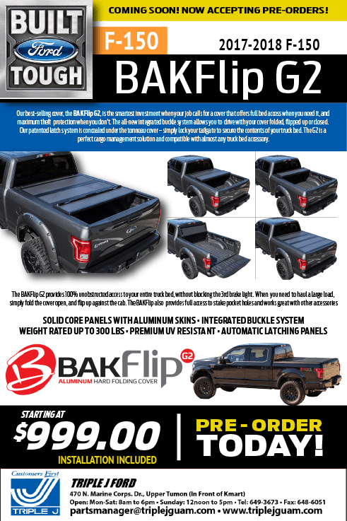 truck-accessories-ford-f150-bak-flip-g2-2017-2018-guam-triple-j-service-preorder-parts-specials