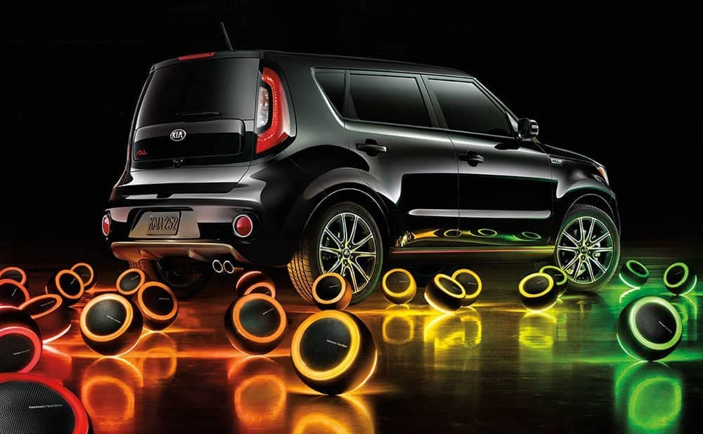 2019 Kia Soul with exterior speakers