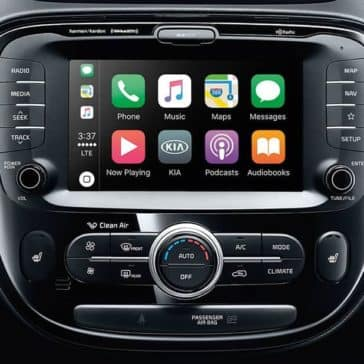 2019 Kia Soul technology screen