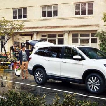 2019 Honda Pilot on a weekend outing
