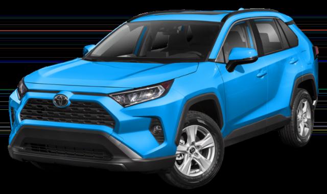 Blue 2019 Toyota RAV4 Thumbnail