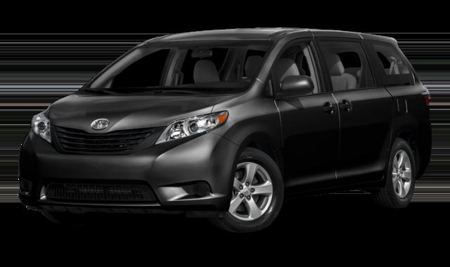 Black Toyota Sienna thumbnail