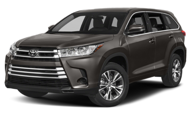 Black 2019 Toyota Highlander thumbnail