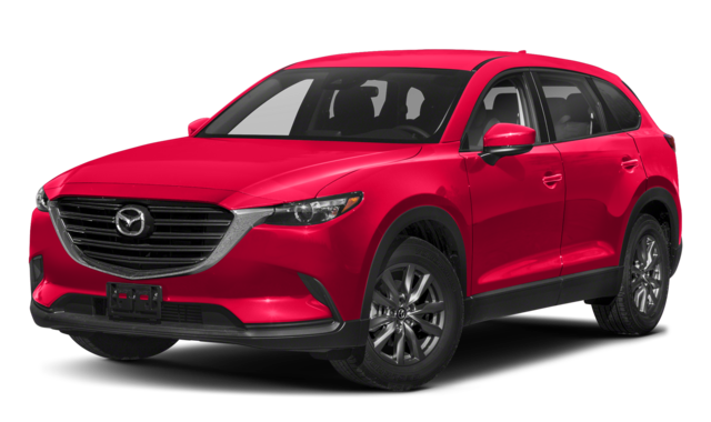 Red 2019 Mazda CX-9 thumbnail