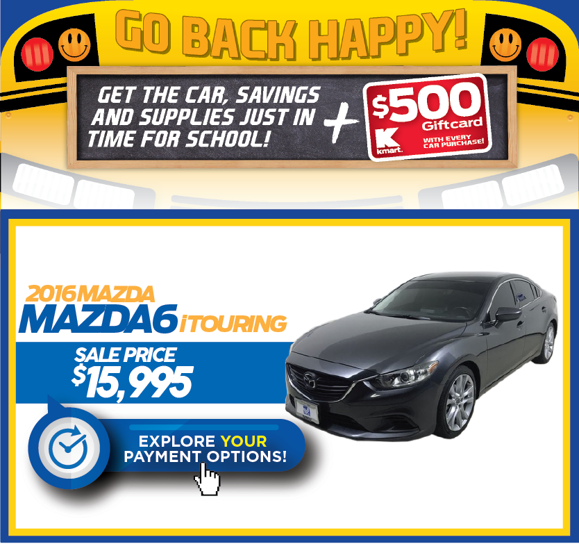 2016 Mazda6 i Touring