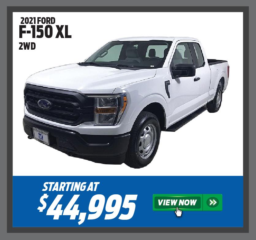 2021 Ford F-150 XL 2WD
