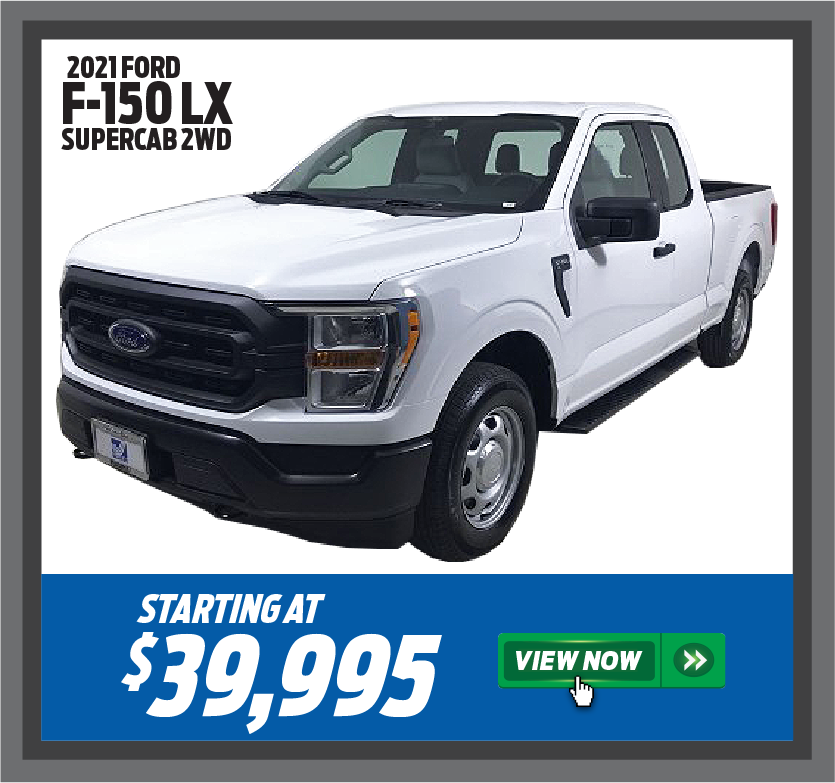 2021 Ford F-150 LX SuperCab 2WD