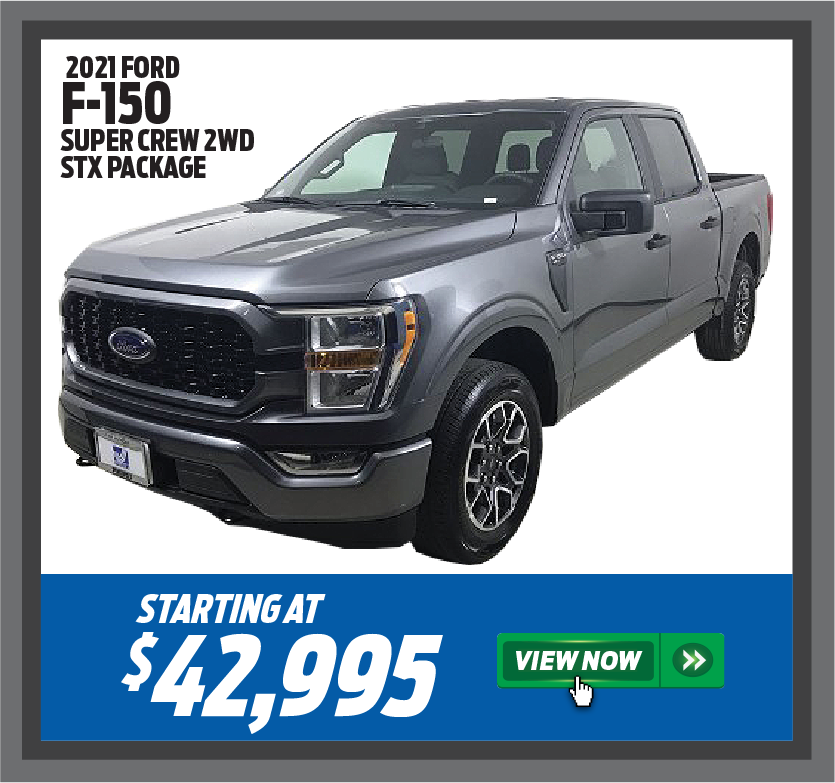 2021 Ford F-150 Super Crew 2WD STX Package