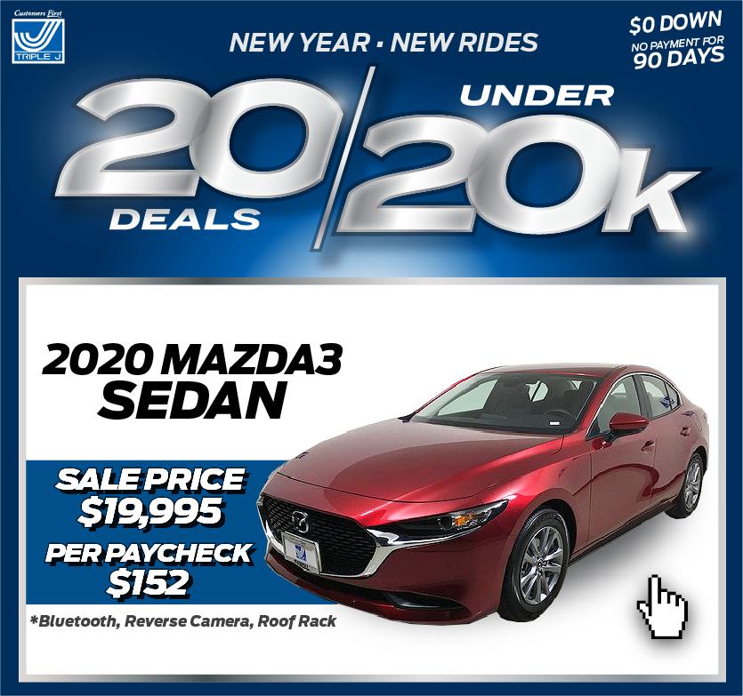 2020 Mazda3 Sedan SV