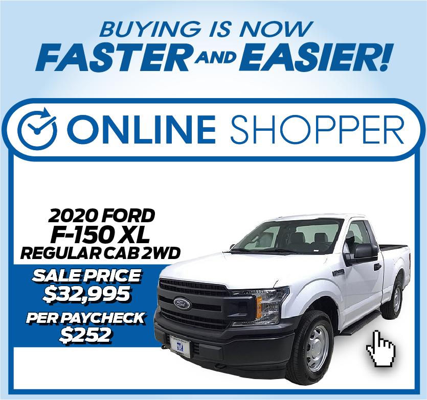 2020 Ford F-150 XL Regular Cab 2WD