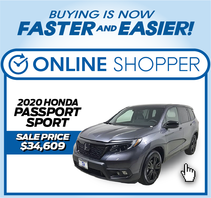 2020 Honda Passport Sport