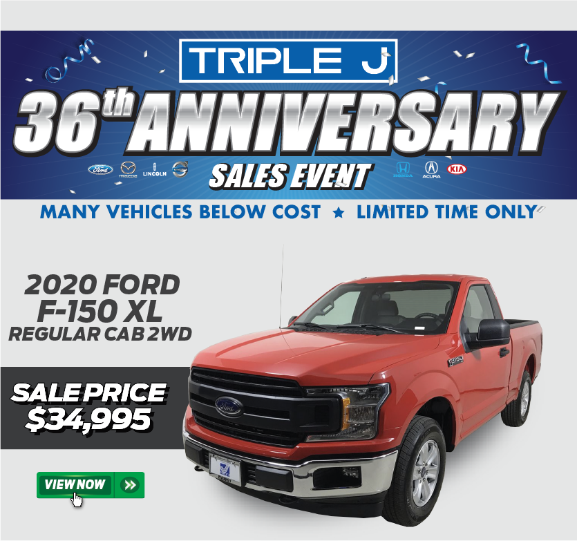 2020 Ford F-150 Regular Cab 2WD