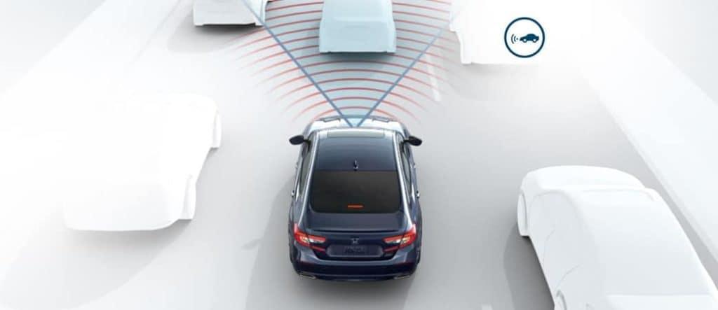 Honda Sensing front sensor image concept