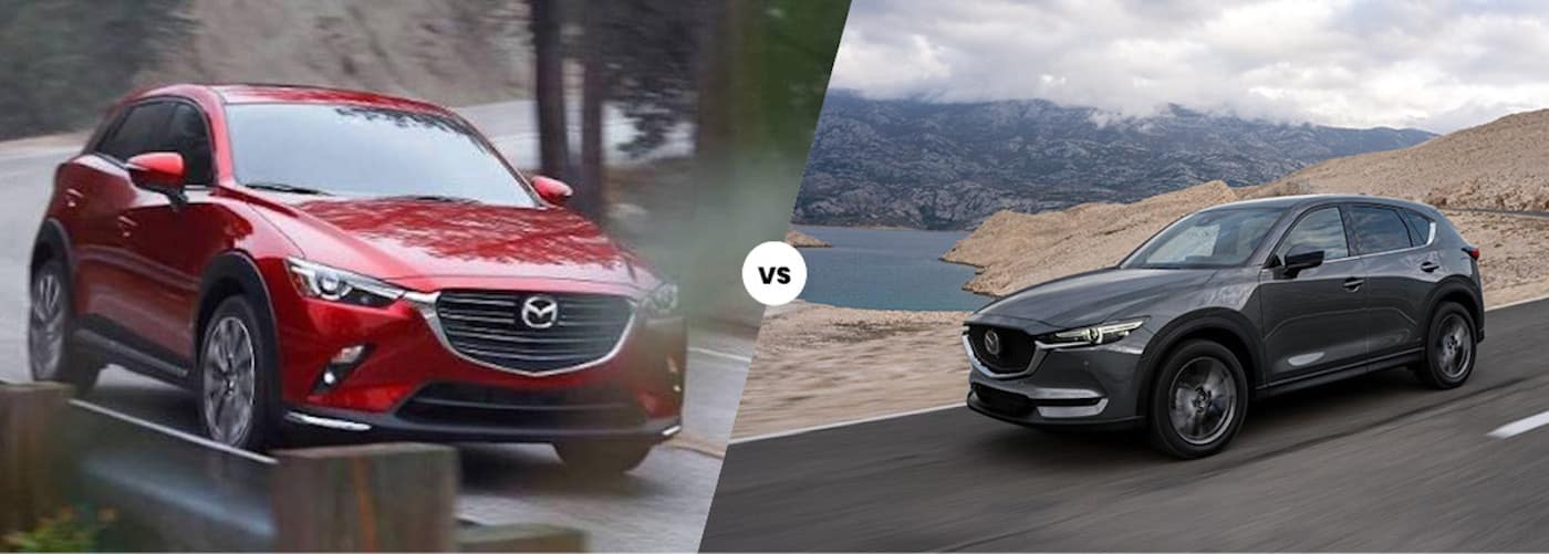 2020 Mazda CX-3 vs. 2020 Mazda CX-5