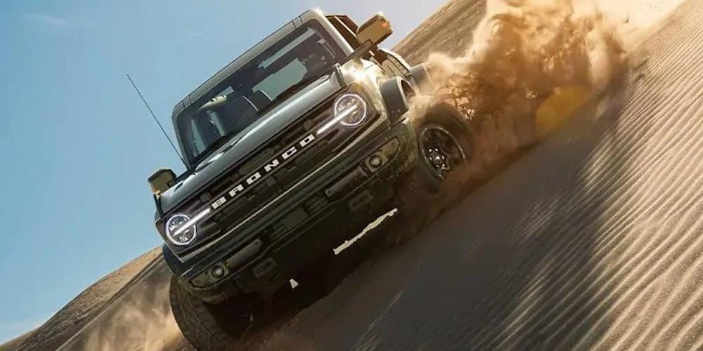 2021 Ford Bronco on Sand Hill
