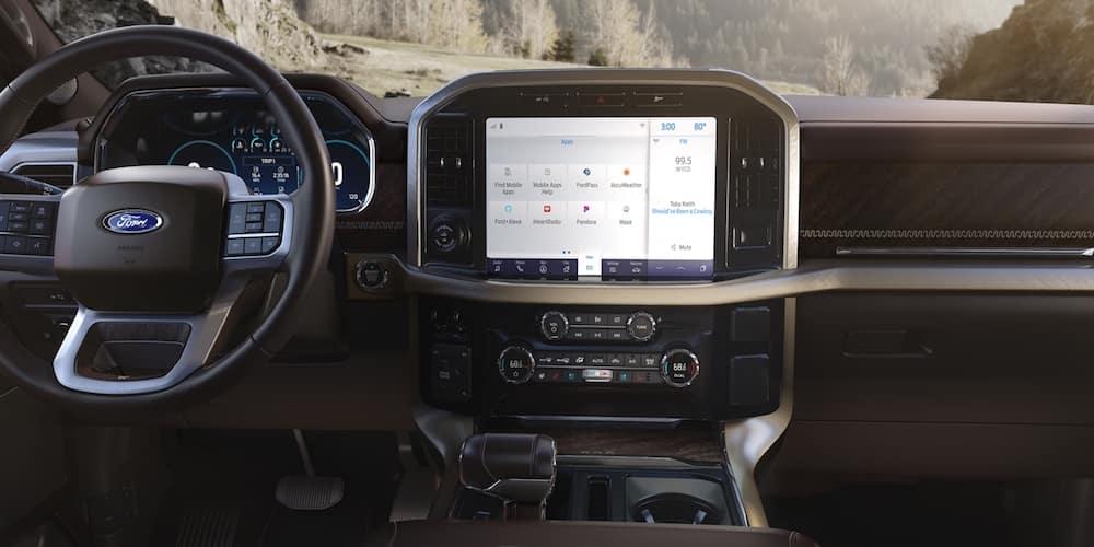 2021 Ford F-150 Dashboard