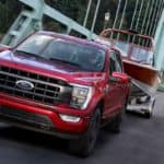 2021 Ford F-150 on Bridge