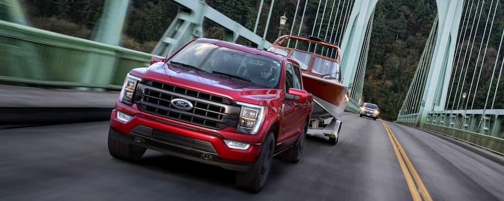 2021 Ford F-150 on Bridge