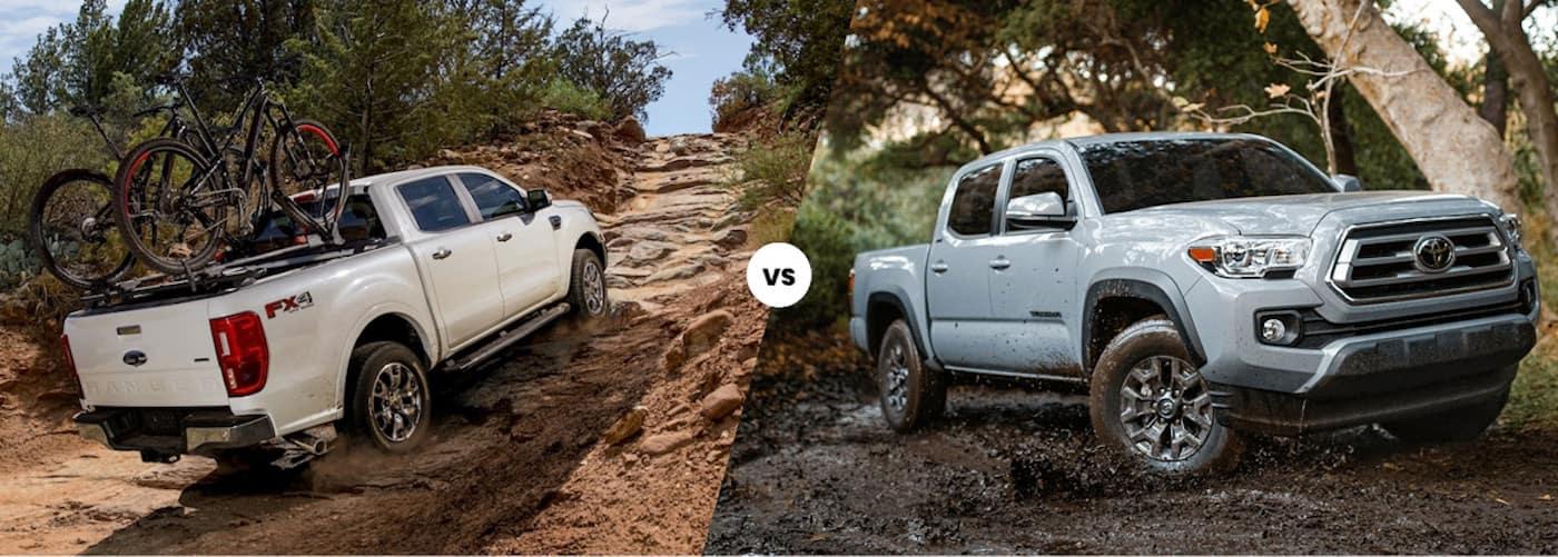 2020 Ford Ranger vs. 2021 Toyota Tacoma