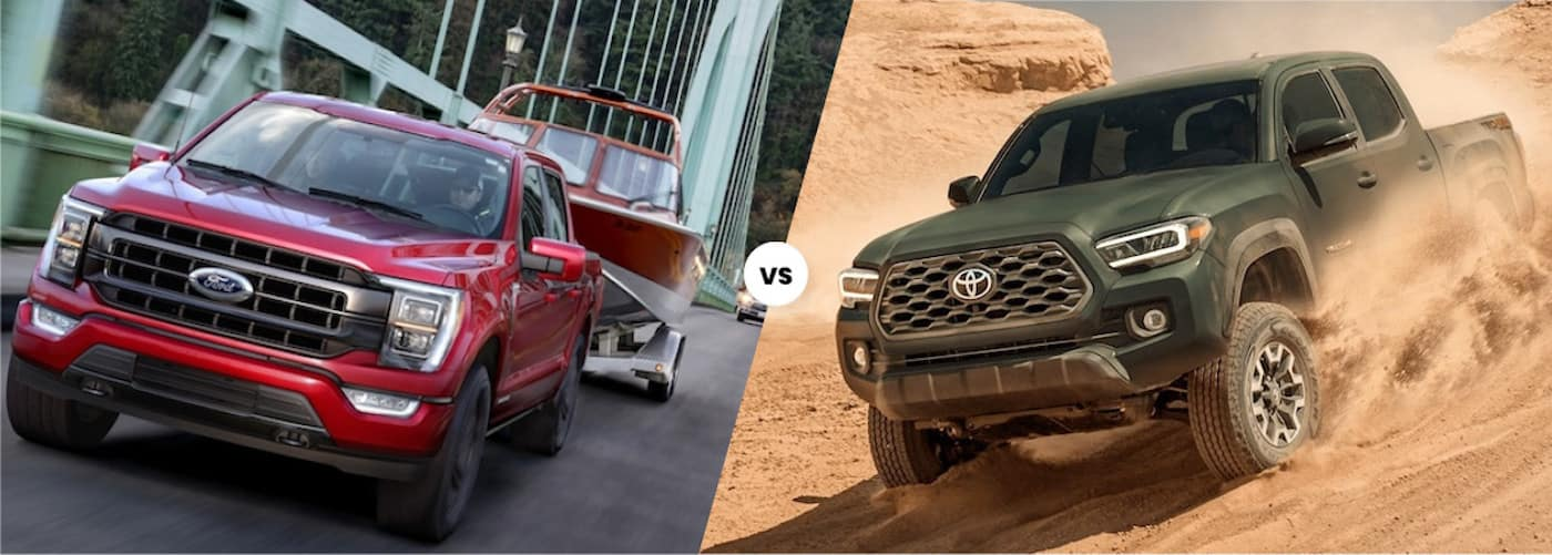 Ford F-150 vs. Toyota Tacoma