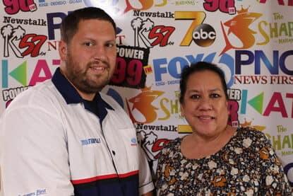 Mike Fejeran with Patti Arroyo