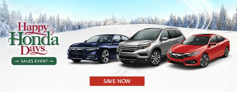 Happy Honda Days Sales Event at your Tri-State Honda Dealers