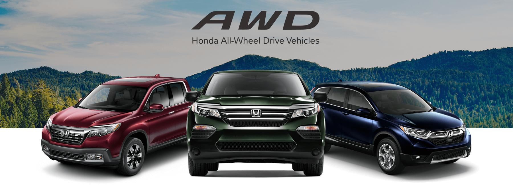 Honda All-Wheel Drive Vehicles