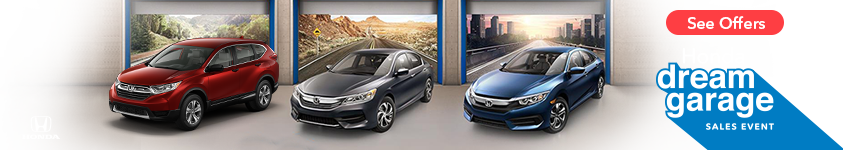 Tri-State Honda Dream Garage Sales Event