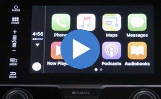 2017 Honda Civic Apple CarPlay