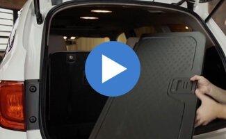 2017 Honda Pilot Reversible Rear Flooring