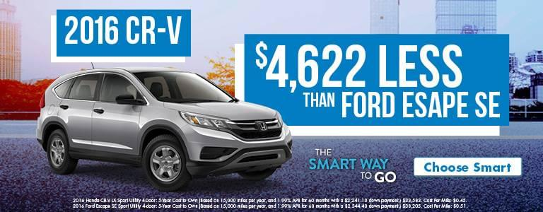 Tri-State Honda CR-V Smart Way To Go